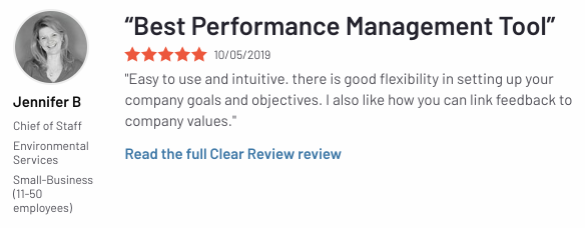 Best Performance Management Tool- G2 Review